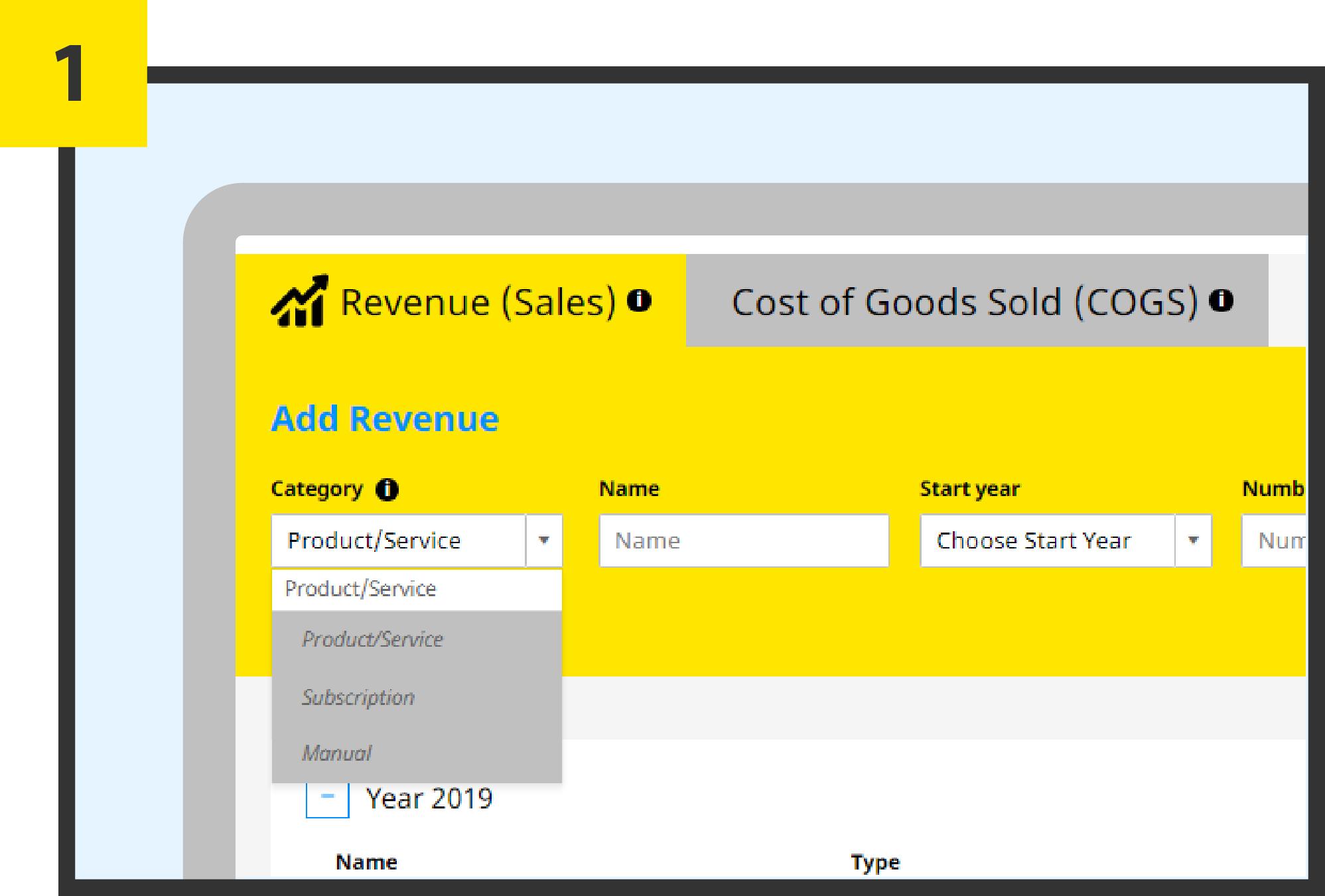 screenshot EY Finance Navigator