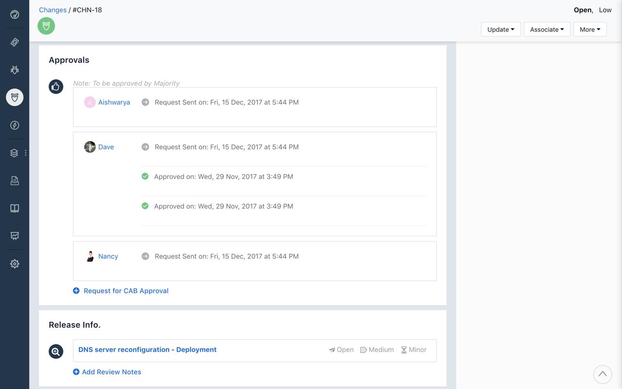 screenshot Freshservice