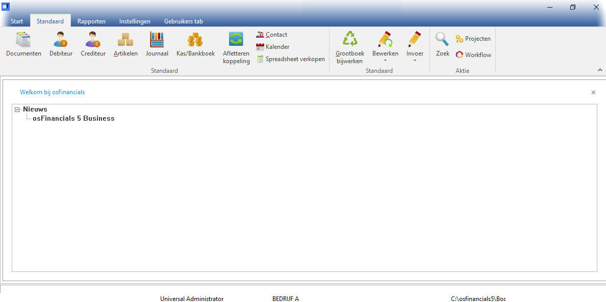 screenshot osFinancials