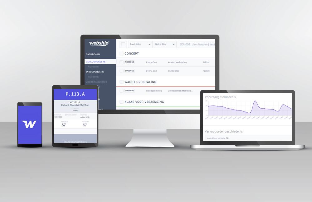 screenshot Webship Online