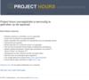 screenshot Project Hours