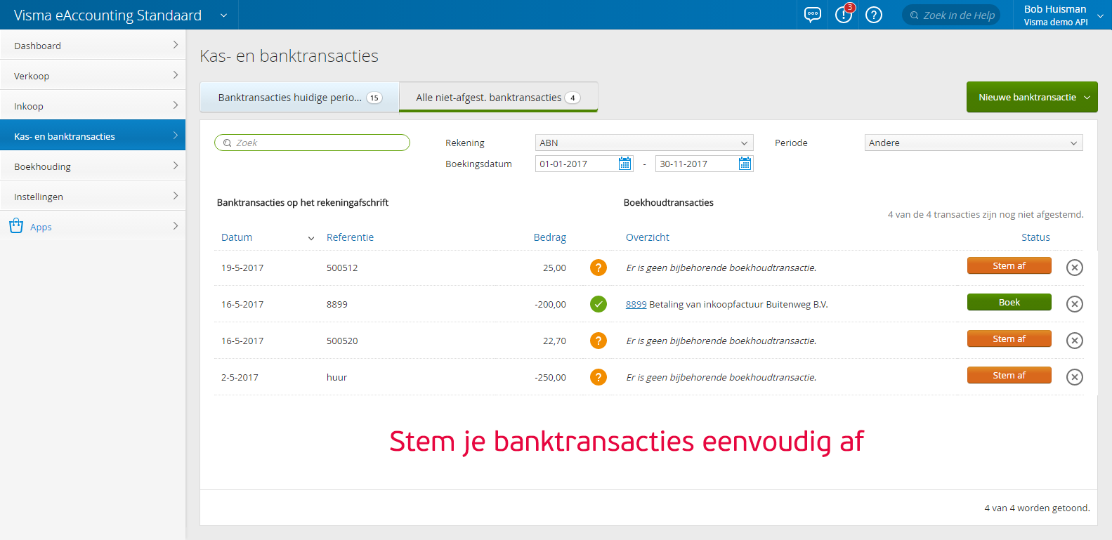 screenshot Visma
