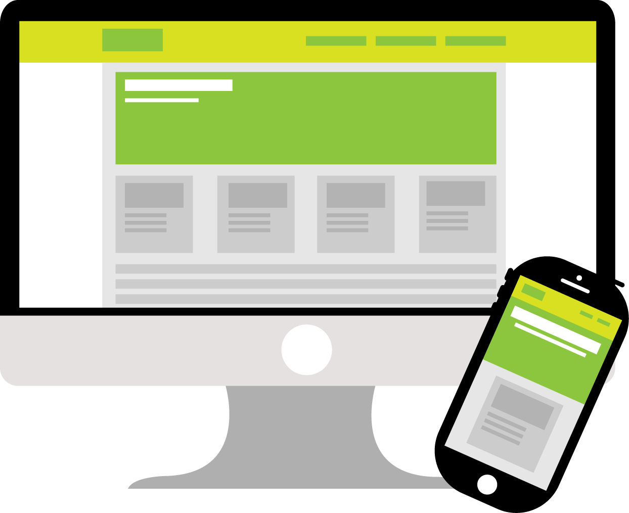 Een website maken programma is responsive